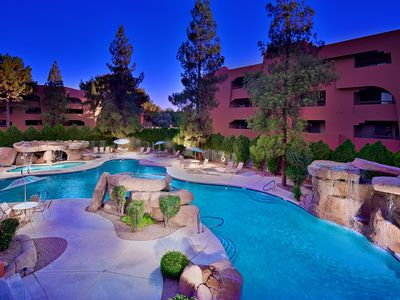 Photo for SUMMER $1400 ALL IN!! GOLF COURSE RESORT 5 POOLS NEWLY FURNISHED ANASAZI VILLAGE