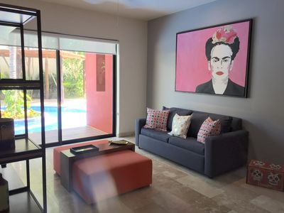 Photo for Relaxing 2 Br Apartment w/ direct access to pool!