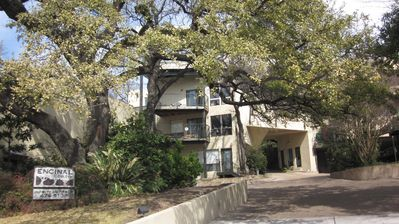 Photo for Cool, quiet  loft condo w/ decks -WEST OLD AUSTIN - Walk to everywhere