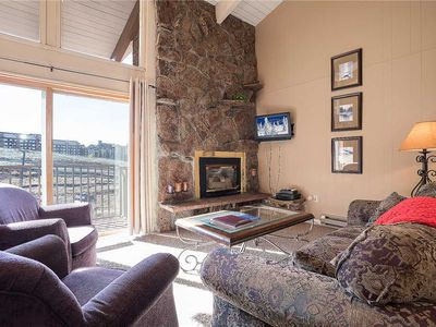 Photo for SM352 by Mountain Resorts ~ Top Floor Condo with Fantastic Views & Hot Tub!