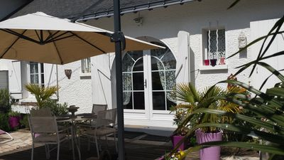 Photo for PROMO - House bauloise completely renovated 5mn walk from the beach