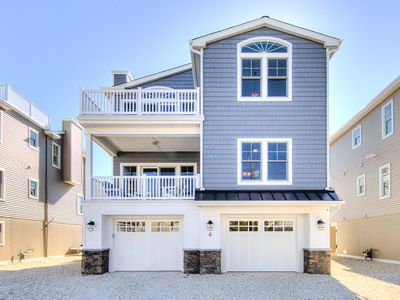 Photo for NEW LUXURY HOME, 3 houses from BEACH,5 Bedroom,Sleeps 12,Heated POOL, game room