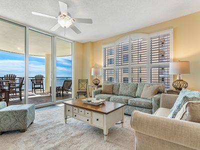 Photo for Beach Colony East 10D-Beach Front unit with large terrace & amazing view!