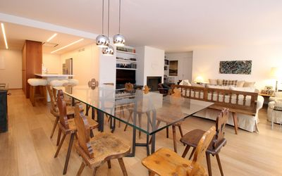 Photo for Luxurious, beautifully furnished penthouse in the center of St. Moritz-Dorf