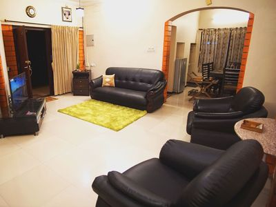 Photo for Nandhanam Eco Home Stay AC with BIke/Car Options
