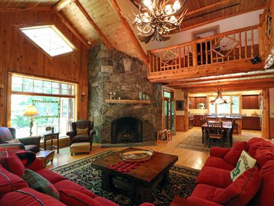 Photo for Algonquin House-Gorgeous Adirondack Rustic Style Home at Whiteface Club Resort