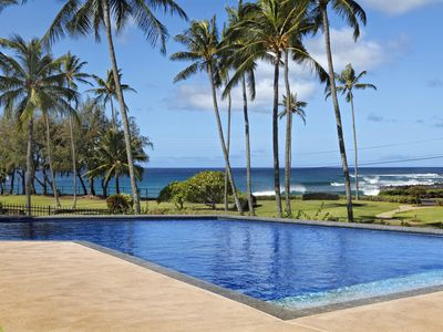 Photo for Manualoha 101, opposite Brennecke/Poipu Beaches, ocn/sunset views, sleeps 6