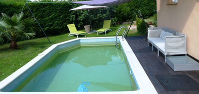 Photo for Independent studio adjoining the villa, access swimming pool and parking,