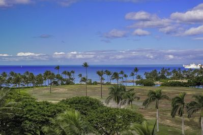 Ocean view from west lanai