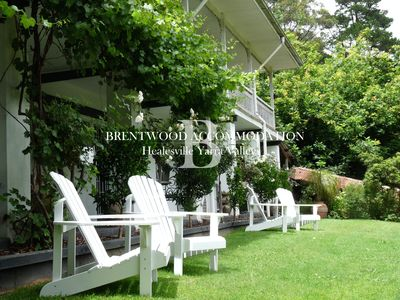 Photo for Perfect B&B Apartments for 3 Couples set in stunning Yarra Valley surroundings.
