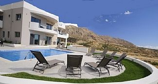 "Photo for ""Villa Danae"" - Luxury Private Villa - Heated Pool, Sea Views, BBQ - sleeps 11"