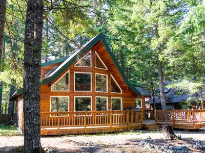 Crystal mountain chalet homeaway for Crystal mountain cabin rentals