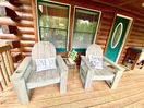 6 brand new - locally crafted - custom made chairs for lounging on the porch