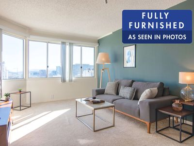 Photo for Sunny Lower Nob Hill 1BR w/ Gym, 1 min. from SFMH by Blueground