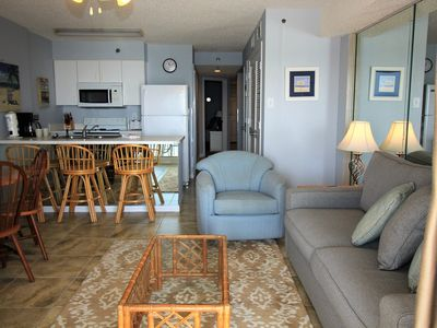 Photo for Stunning, Upgraded Gulf Front, 1 BR / 2 Bath, Sugar Sands TW 302