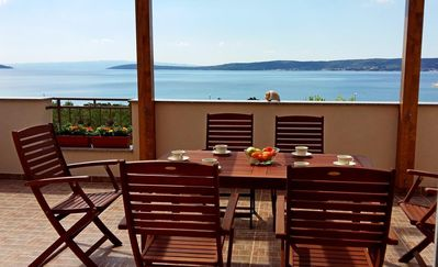 Photo for Two bedroom apartment near beach Kaštel Štafilić, Kaštela (A-12627-b)