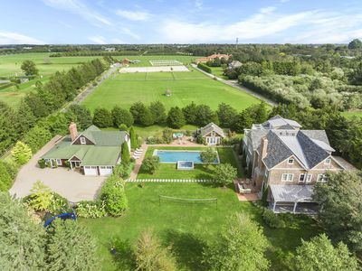 Photo for Stunning Compound with Large 14 bd Main House and Barn in Bridgehampton