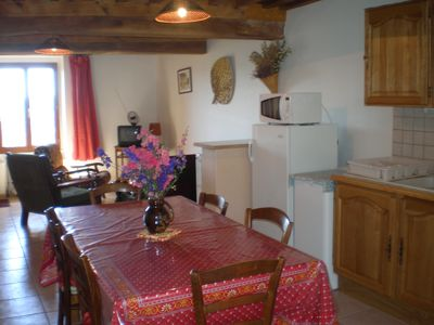 Photo for Cottage 2 star with panoramic views of the mountains of Morvan.