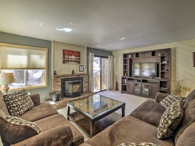 Photo for Mammoth Lakes Condo-Walk to Trolley, Cafes, Shops!