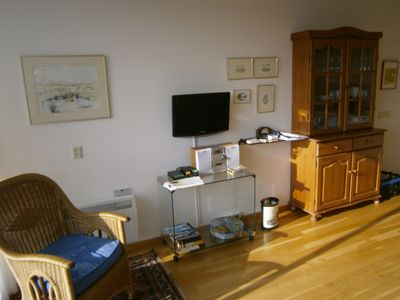 Photo for Cozy apartment by the sea, w/ parquet w/ a south-facing balcony & indoor pool