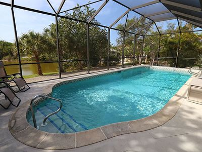 Photo for Stunning Home in East Rocks! Fantastic Pool! Lake View and Close to Beach!