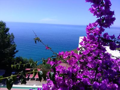 Photo for Splendid Villa with private pool and stunning views in Sperlonga, near Rome