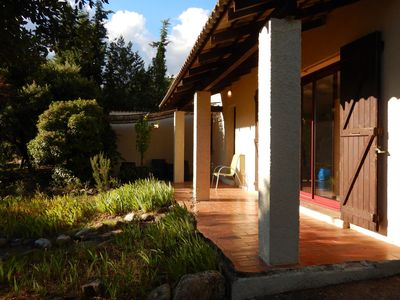 Photo for Fine villa for peace seekers and hikers, dog welcome, private pool and garden