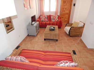 Photo for Beautiful Spacious 2 bed 2 bath holiday home close to Villamartin Plaza