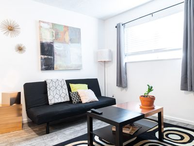 Photo for New Listing!  Thrifty and functional 2-bd near AUS and downtown