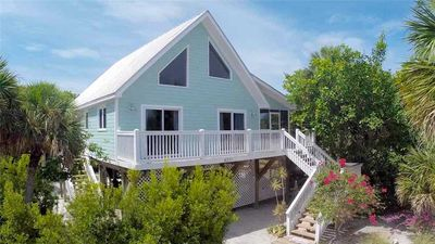Photo for SECLUDED BEACH-VIEW HOME WITH A PRIVATE POOL, CLUB ACCESS, 2 GOLF CARTS