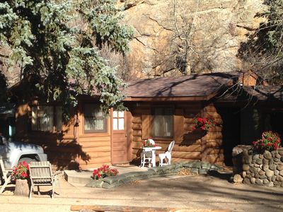Redemption Cabin is quintessential Estes Park. 'Simply amazing'.