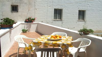 Photo for Holidays in Low Cost apartment at the Sea with Terrace, Air conditioning,Salento