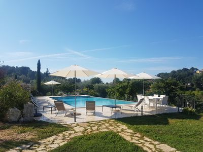 Photo for Lovely villa with private pool close to Rome
