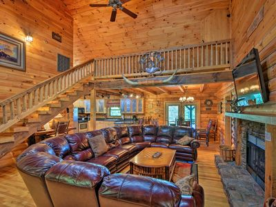 Photo for NEW! Cozy Trenton Cabin w/Spa - 15 Mi to Chatt!
