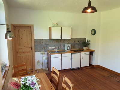 Photo for 2-room apartment - Ostsee Holiday in the old village school Welzin