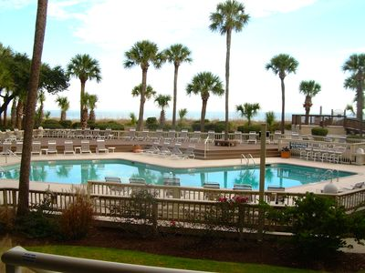 Photo for Perfect 2bd/2bth with direct pool & ocean views!!!