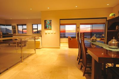 View of Ocean from the living space upstairs