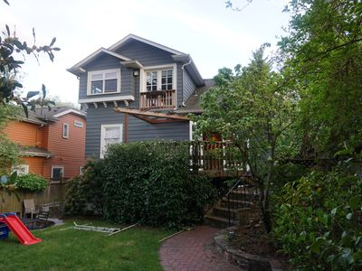 Photo for Light-Filled 3 Bedroom Phinney Ridge Home with Yard - Close to Greenlake and Zoo