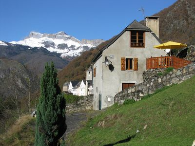 Photo for Aspe Valley cottage Béarn Pyrenees beautiful ideal for hiking