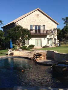 Photo for Boerne Hill Country 3000 Sq Ft Guest House With Pool On 5 Gated Acres, Sleeps 12