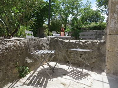Photo for Cozy 1 bedroom house, 2 min walk from the village square in beautiful GOULT...