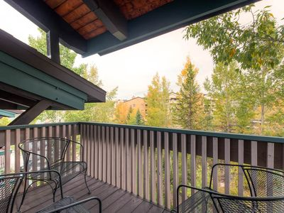 Photo for Multi-Level Condo w/Hot Tub Access & Large Private Deck, Great for Summer Vacation