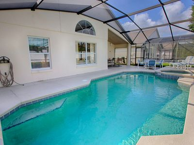 Photo for Disney World Florida with your own private pool!