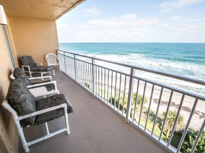 Photo for Beachfront Vacation Rental, Beautiful Views from the 6th story balcony.