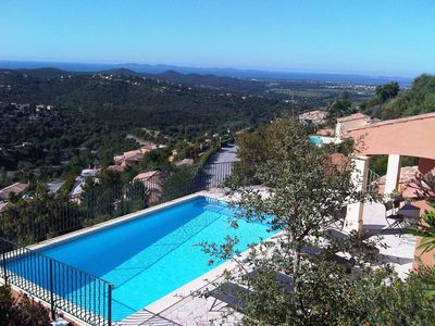 Photo for Cosy apartment for 10 guests with private pool, WIFI, TV, pets allowed and parking