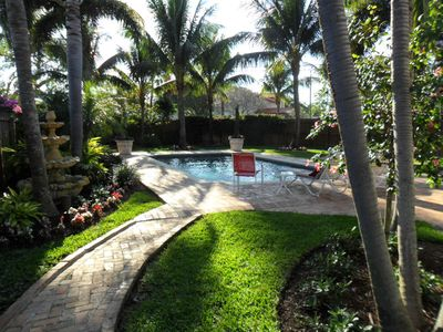 Photo for Amazing 3/2 Delray Cottage/Pool Near Beach and Walk to Atlantic