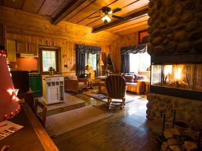 Photo for Well appointed 2BR cabins with fireplace and kitchen