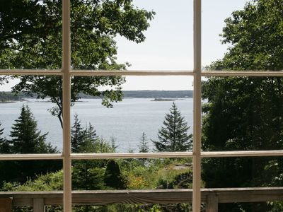 Photo for Traditional Maine Cottage with John's Bay Vistas: Cove and Bay Views