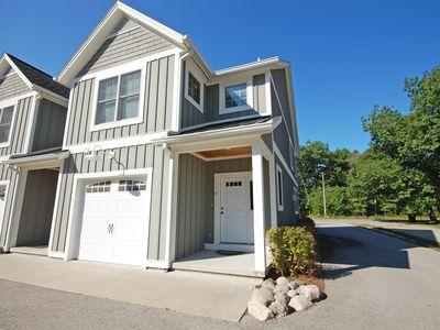 Photo for Darling townhome in Glen Arbor, steps from Lake Michigan; 3BR/2.5BA; Acc:6