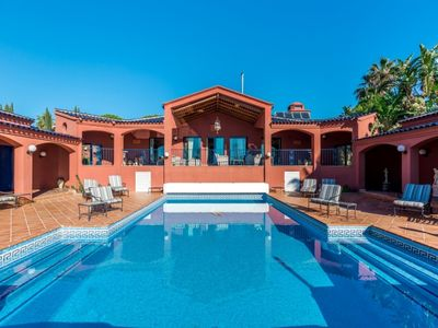 Photo for 8 bedroom Villa, sleeps 16 in La Heredia with Pool, Air Con and WiFi